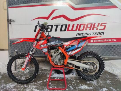 Müüa KTM krossimootorratas Motoworks